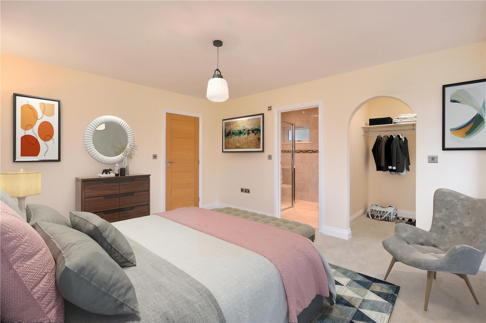 4 bed detached for sale in Kings Acre 7