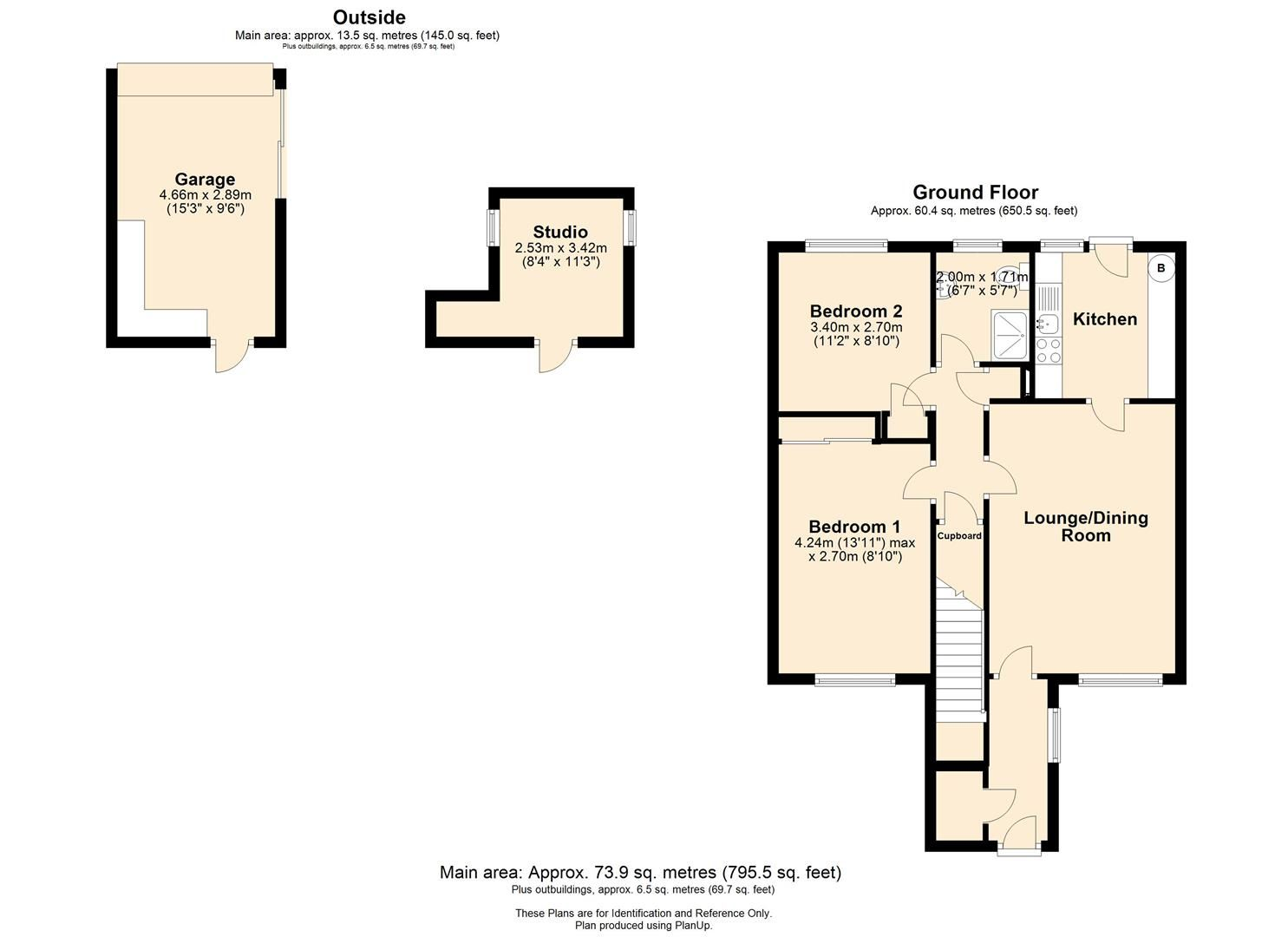 2 bed apartment for sale in Hereford - Property Floorplan
