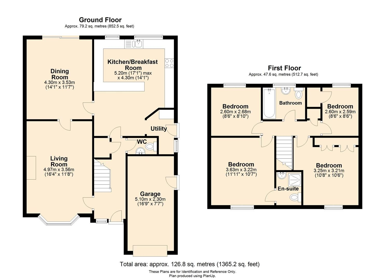 4 bed detached for sale in Hereford - Property Floorplan