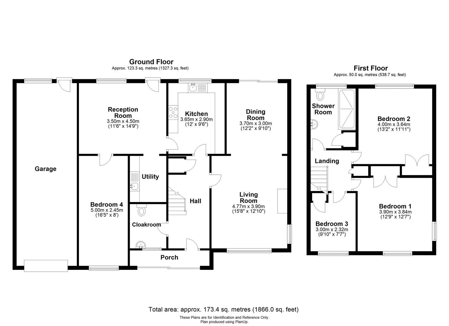 3 bed detached for sale in Kings Caple - Property Floorplan