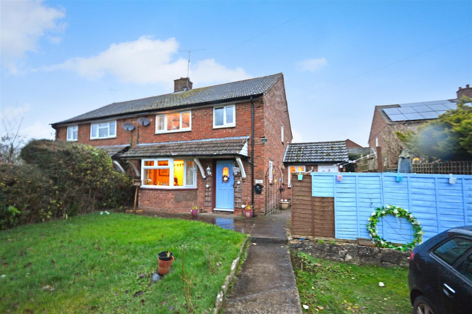 3 bed semi-detached for sale in Much Birch  - Property Image 1