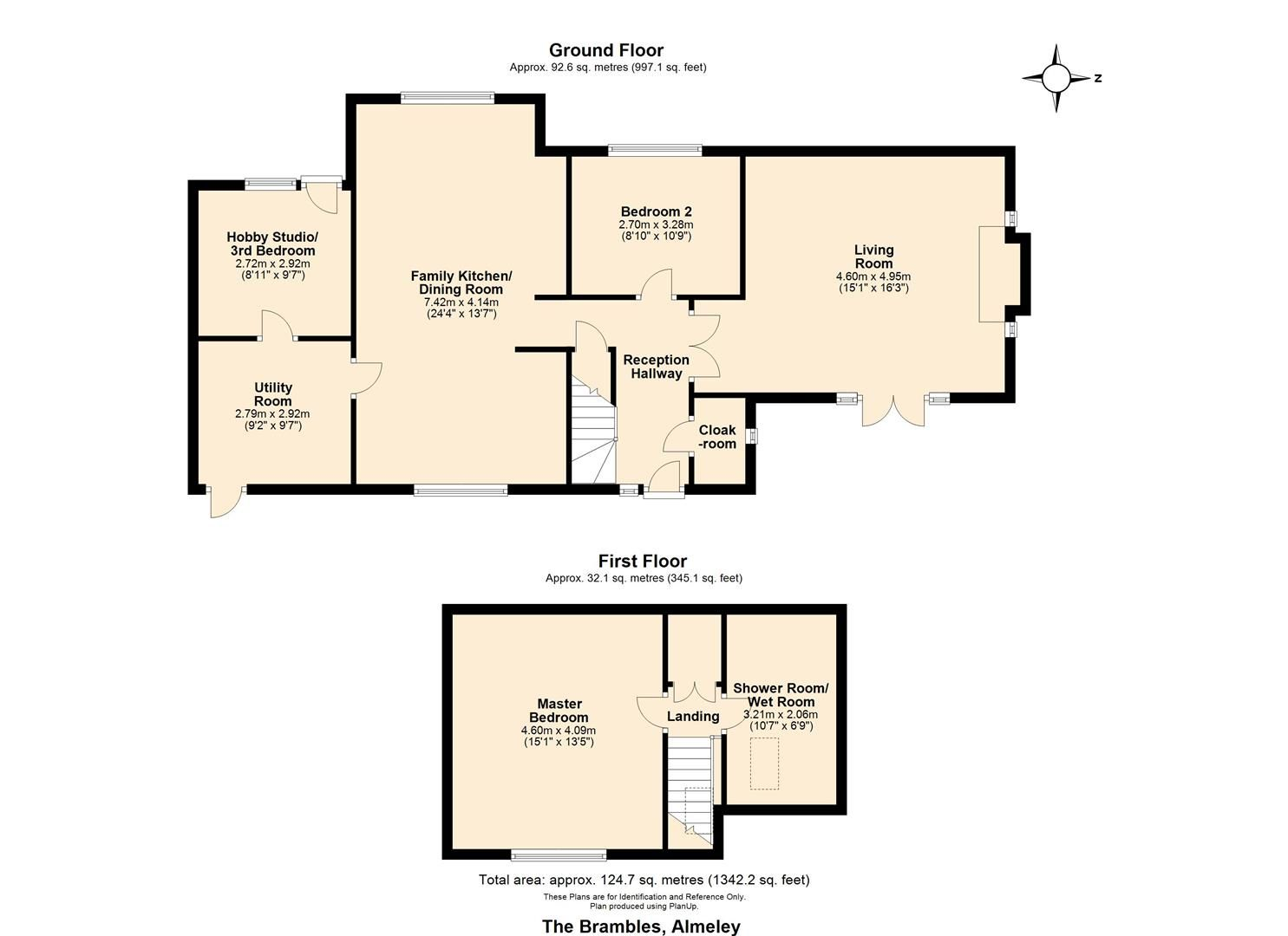 3 bed detached-bungalow for sale in Almeley - Property Floorplan
