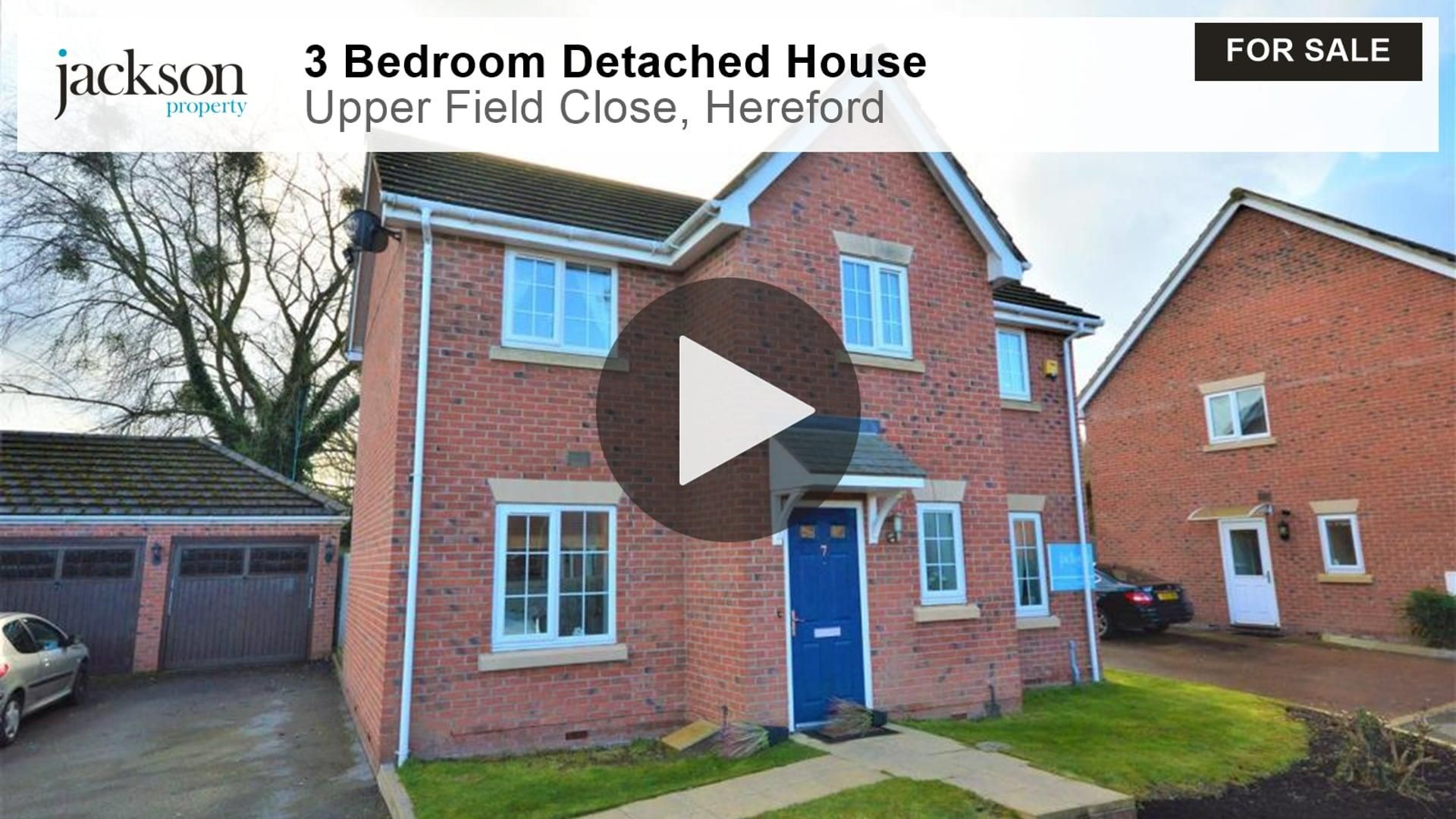 3 bed detached for sale in Hereford 19