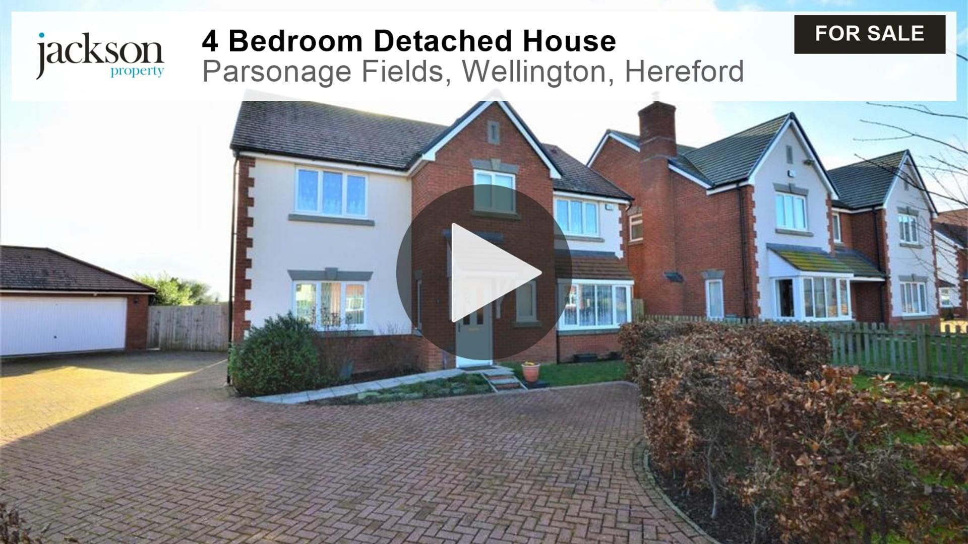 4 bed detached for sale in Wellington 2