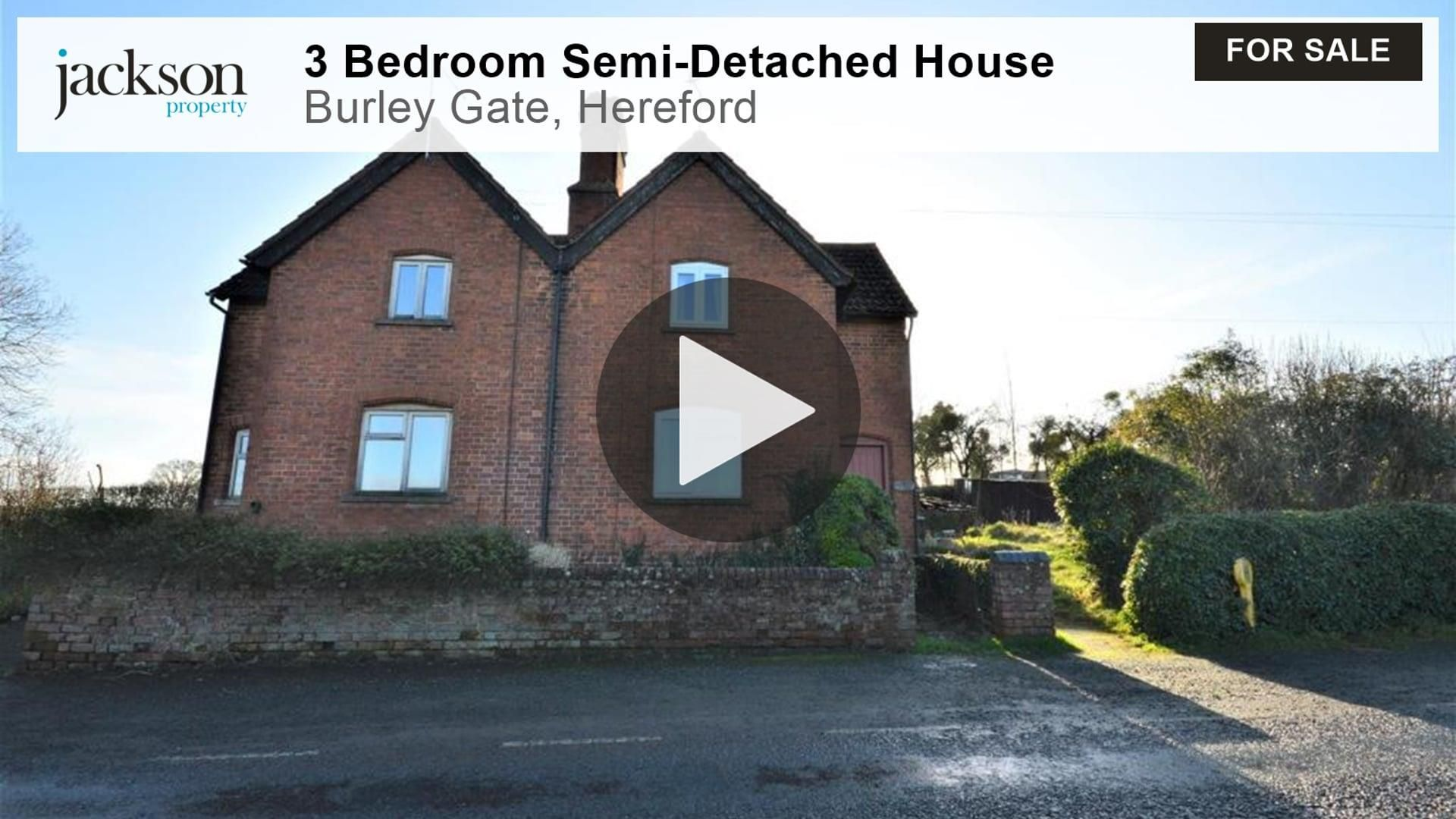 3 bed semi-detached for sale in Burley Gate 2