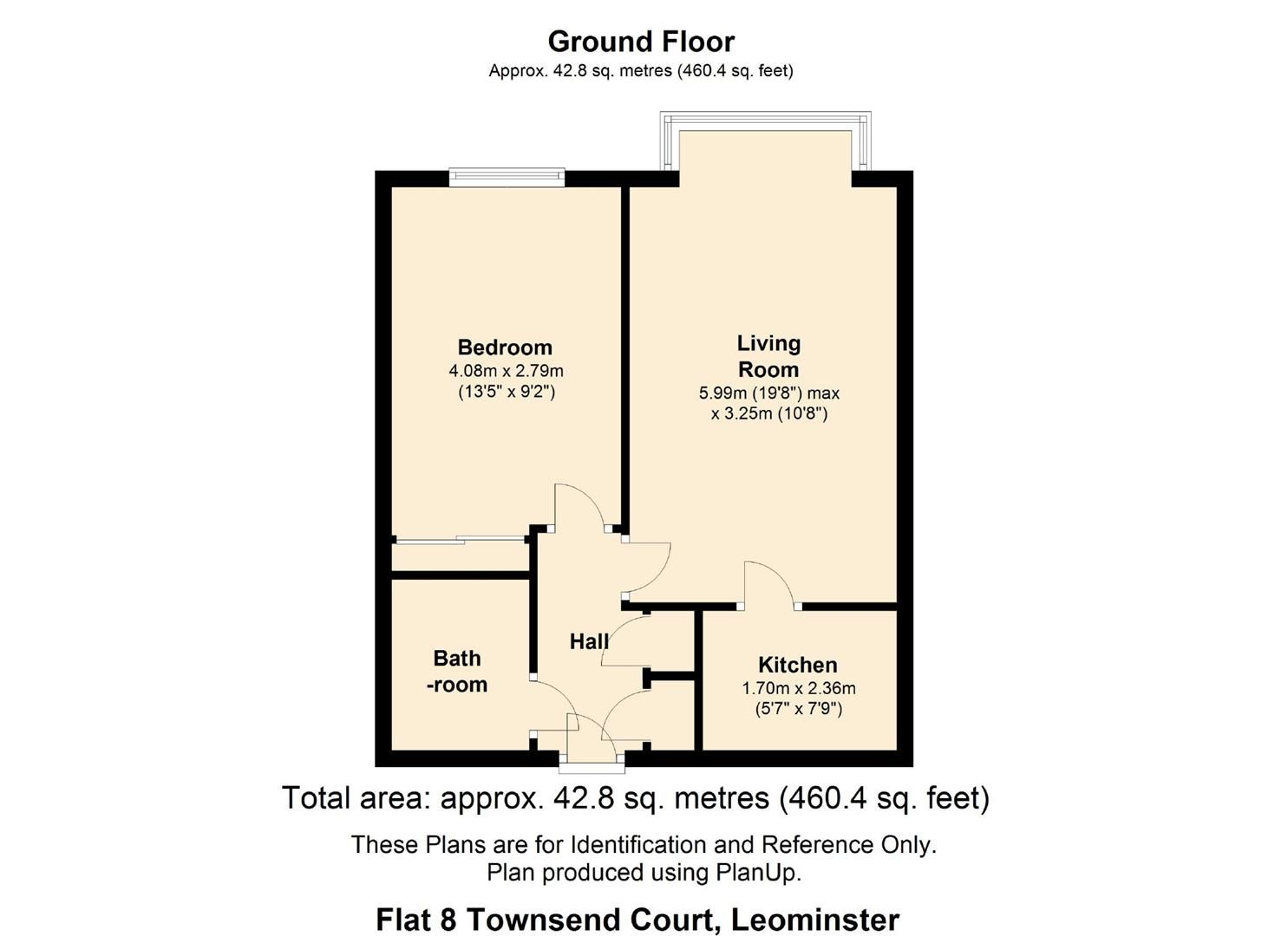 1 bed retirement-property for sale in Leominster - Property Floorplan