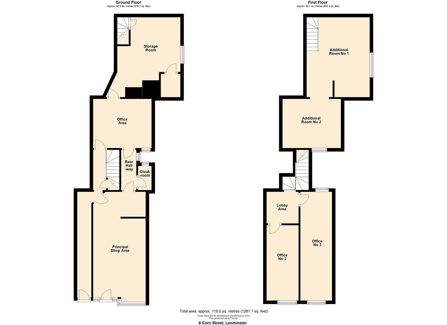 for sale in Leominster - Property Floorplan