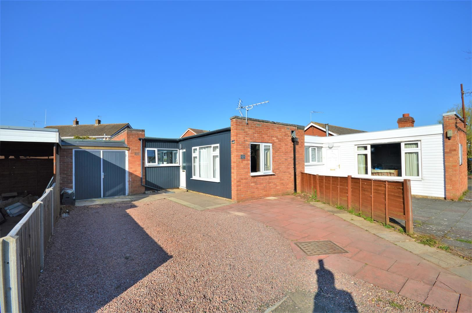2 bed semi-detached-bungalow for sale in Marden, HR1