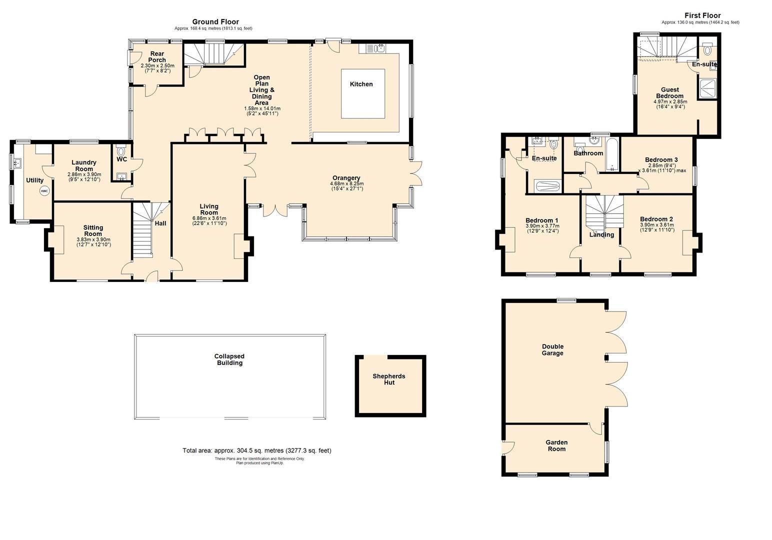 4 bed detached for sale in Sutton St. Nicholas - Property Floorplan