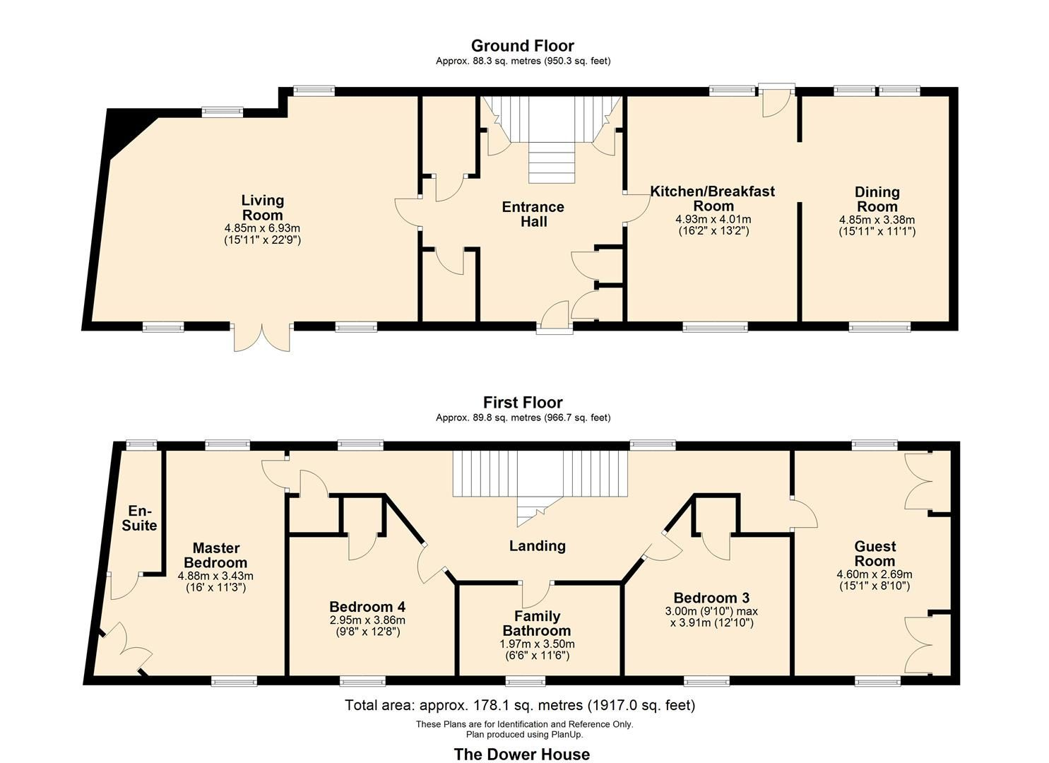 4 bed barn conversion for sale in Kingsland - Property Floorplan