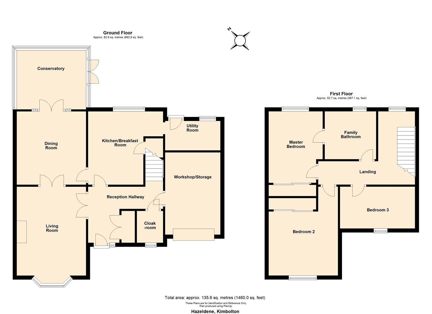 3 bed detached for sale in Kimbolton - Property Floorplan