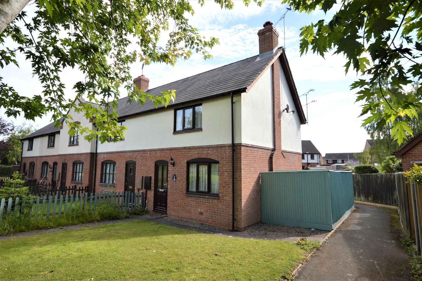 2 bed end-of-terrace for sale in Leominster  - Property Image 1