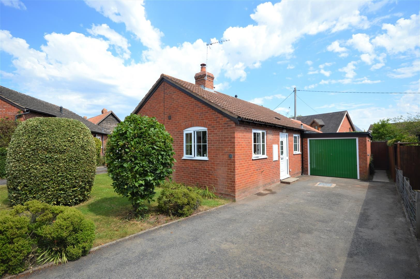 2 bed detached-bungalow for sale in Luston, HR6