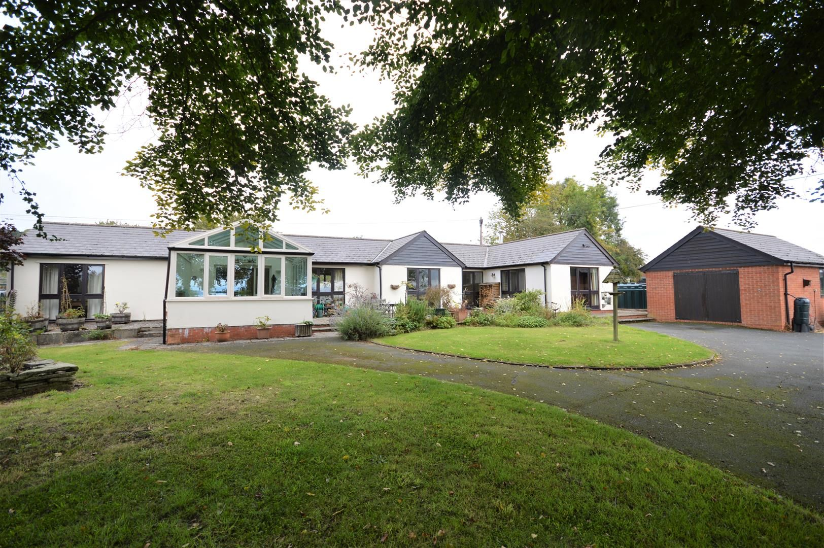 3 bed detached-bungalow for sale in Bircher, HR6