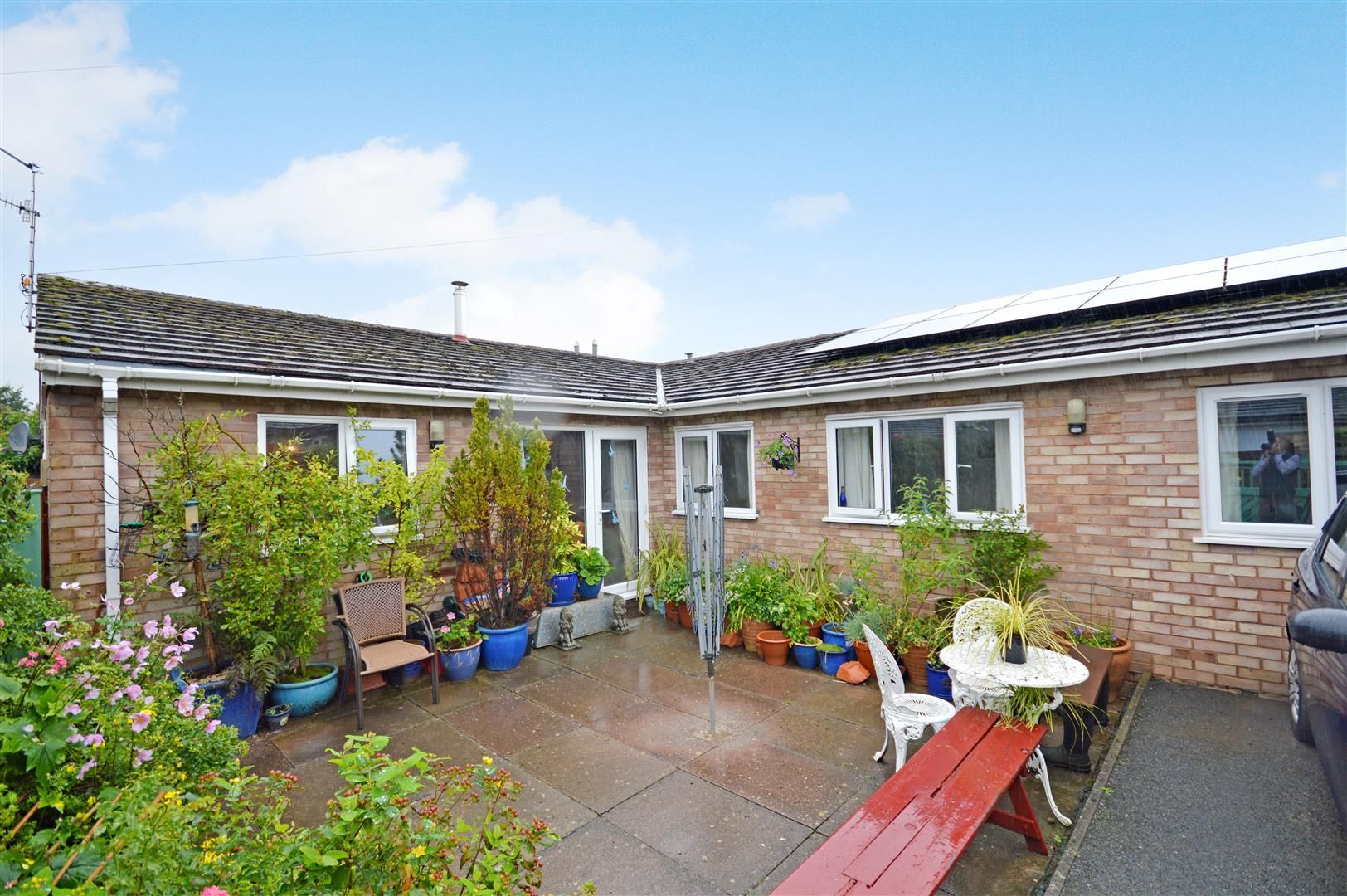 3 bed semi-detached bungalow for sale in Peterchurch  - Property Image 1