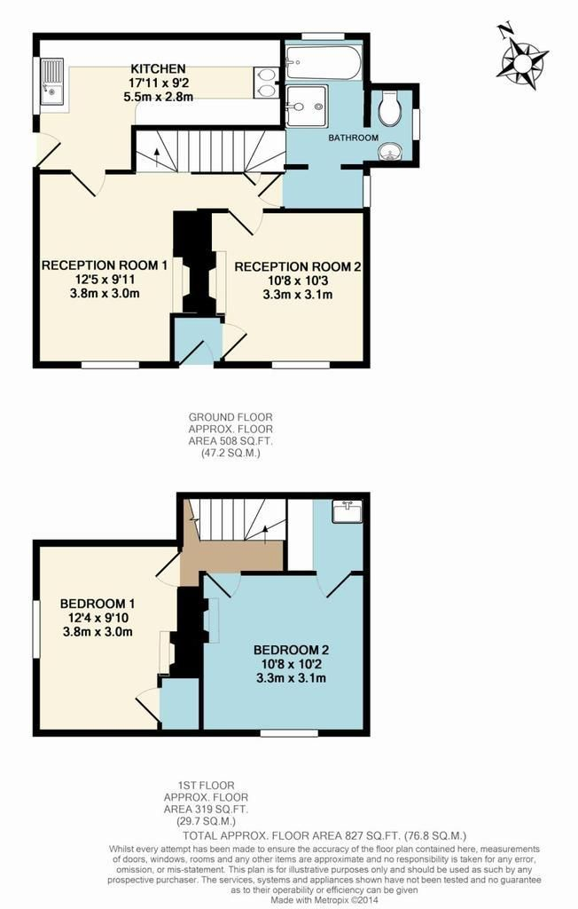 11 bed country-house for sale in Evancoyd - Property Floorplan
