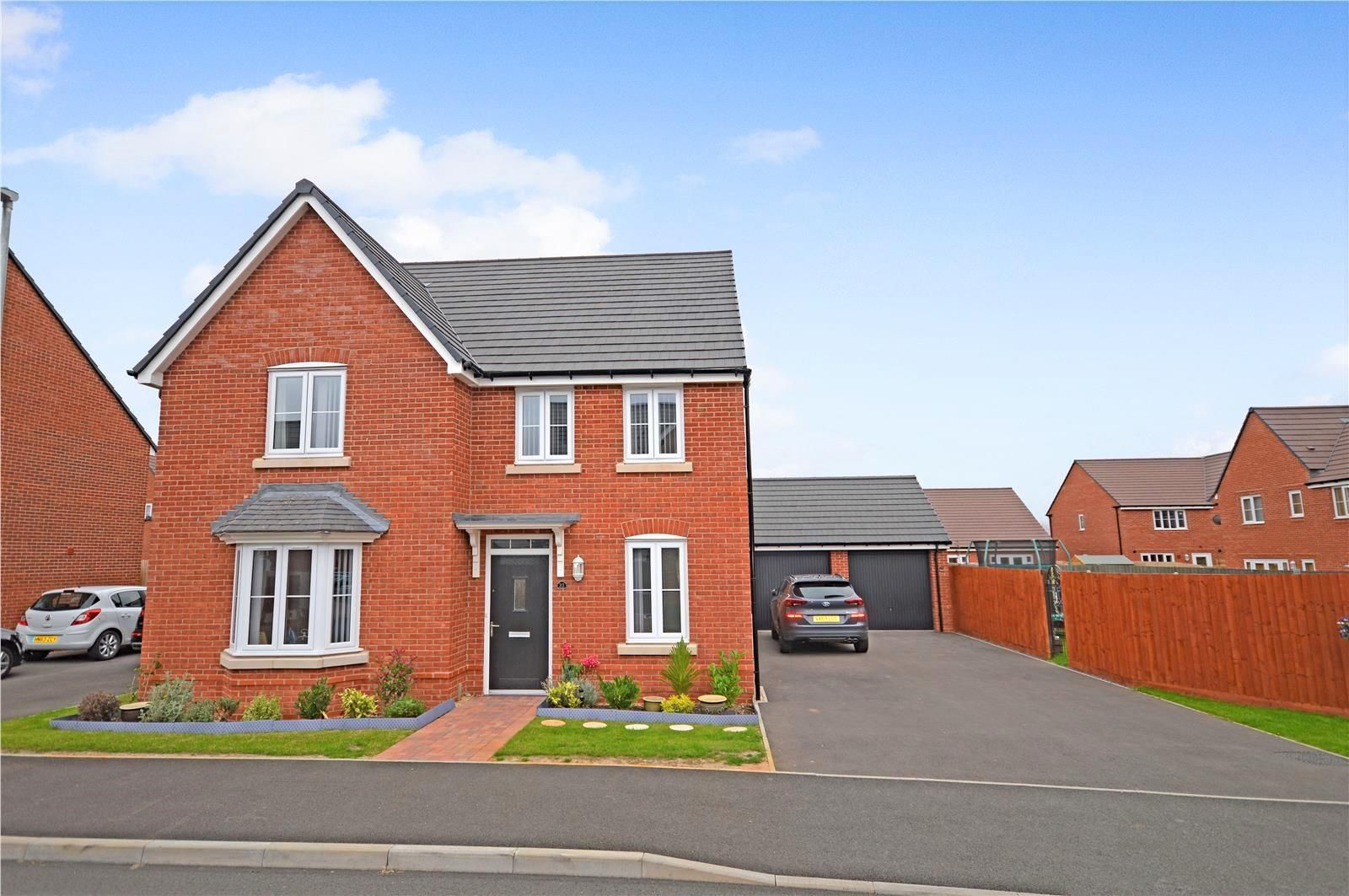 4 bed detached for sale in Whitestone, HR1