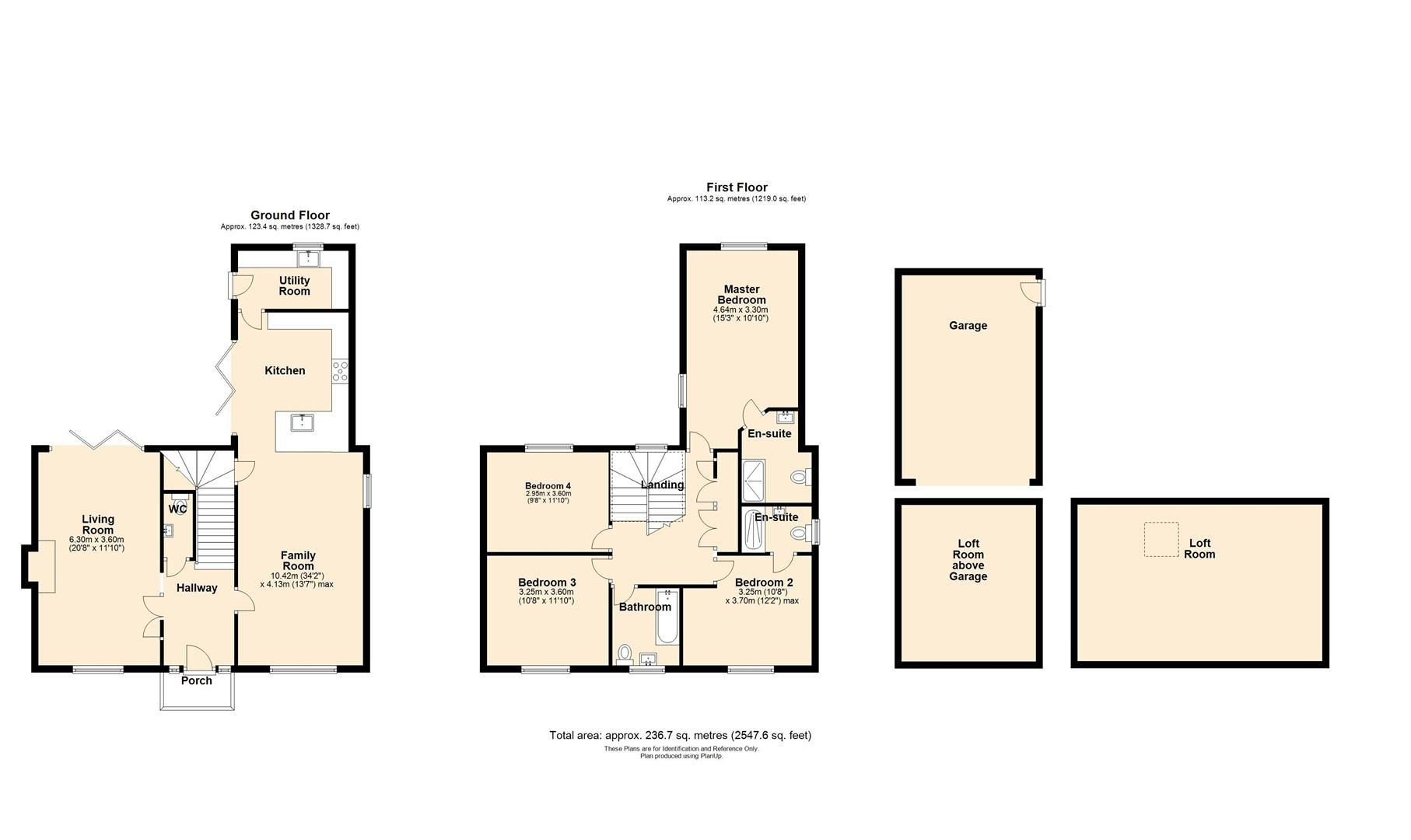 4 bed detached for sale in Marden - Property Floorplan