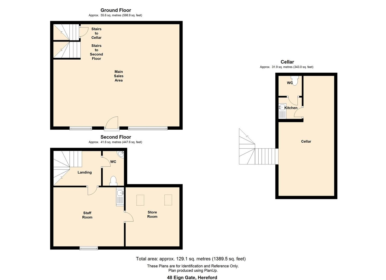 to rent in Hereford City - Property Floorplan