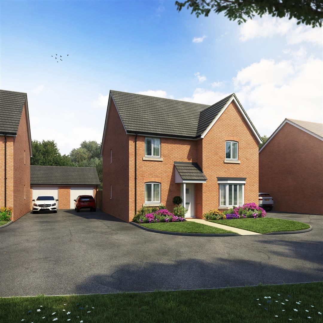 4 bed detached for sale in Kingstone, HR2
