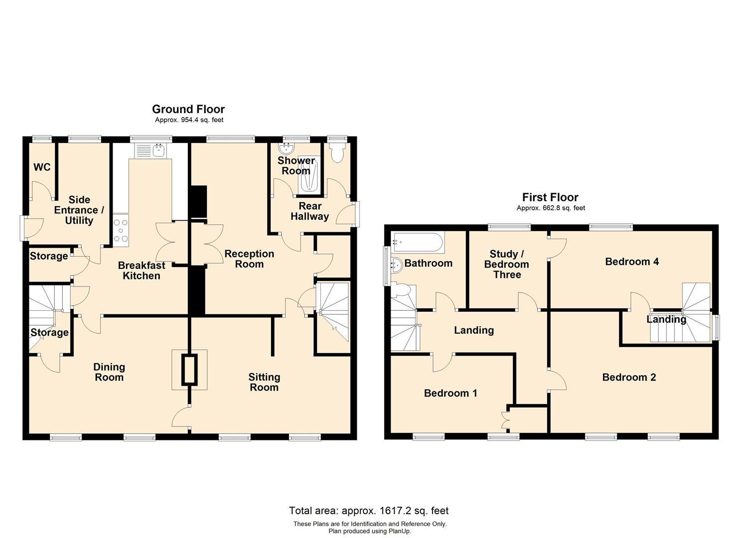 4 bed house to rent in Breinton - Property Floorplan