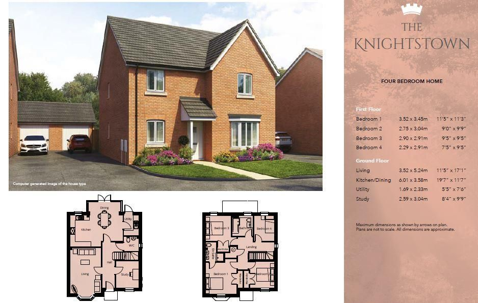 4 bed detached for sale in Kingstone  - Property Image 3