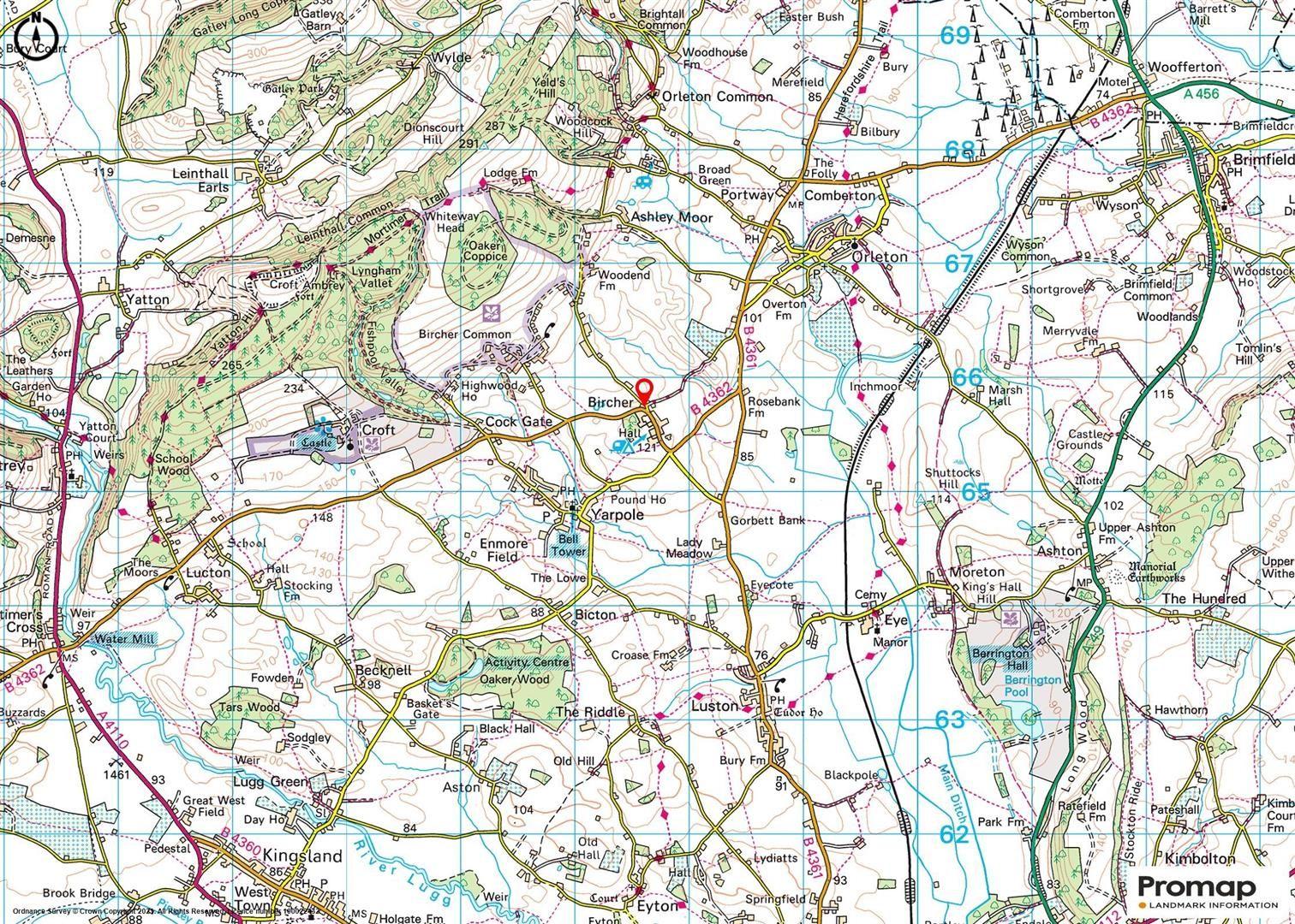 Plot for sale in Bircher - Property Floorplan