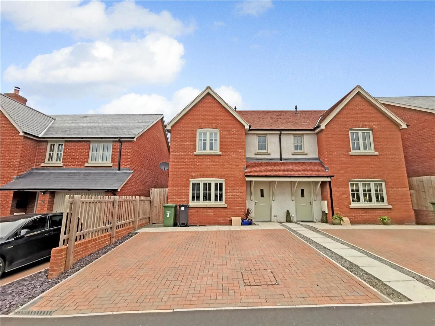 3 bed semi-detached for sale in Bodenham  - Property Image 1