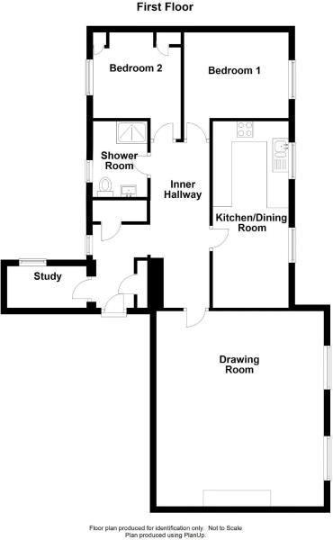 2 bed apartment for sale in Victoria Bridge - Property Floorplan