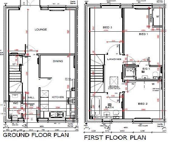 3 bed semi-detached for sale in Kingstone - Property Floorplan