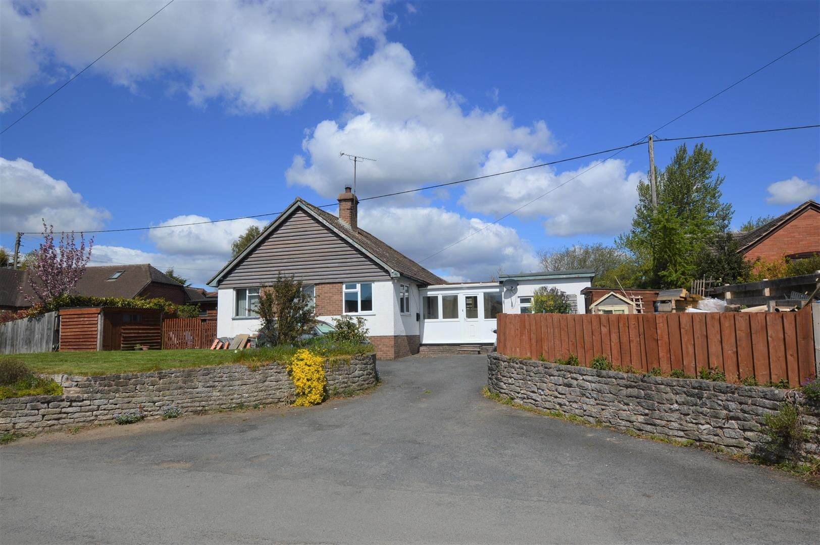 3 bed detached bungalow for sale in Brimfield, SY8