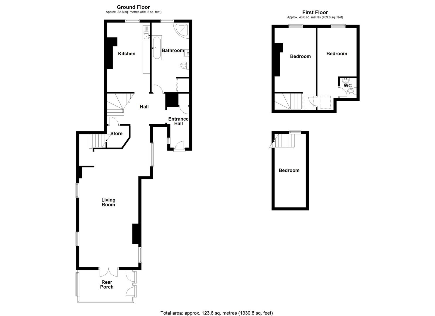 3 bed town house for sale in Leominster 11