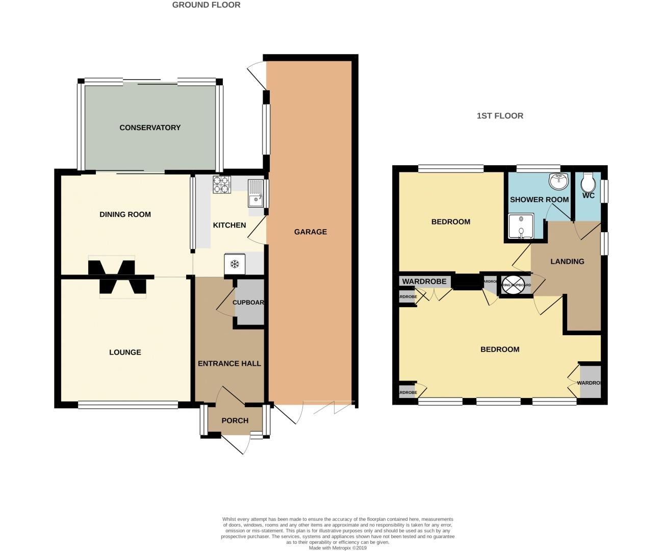 2 bed house for sale in Lansdowne Road - Property Floorplan