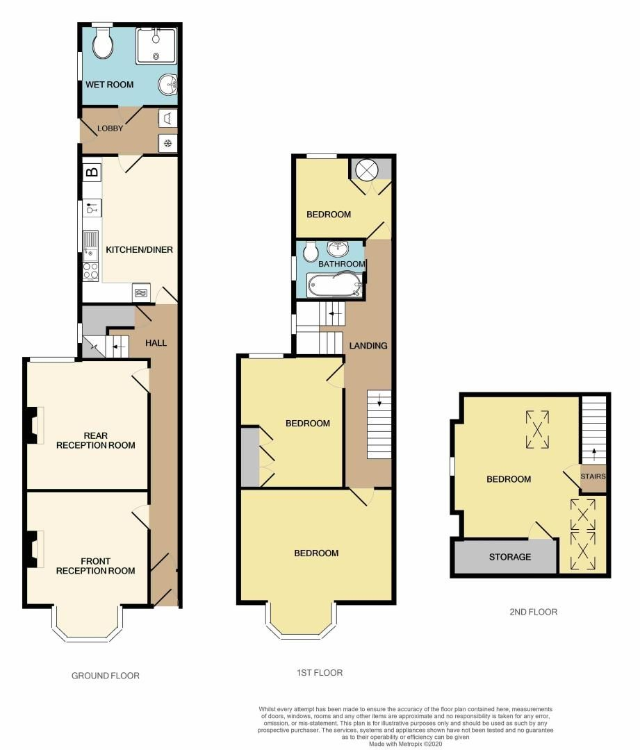 4 bed house for sale in Rathbone Road - Property Floorplan