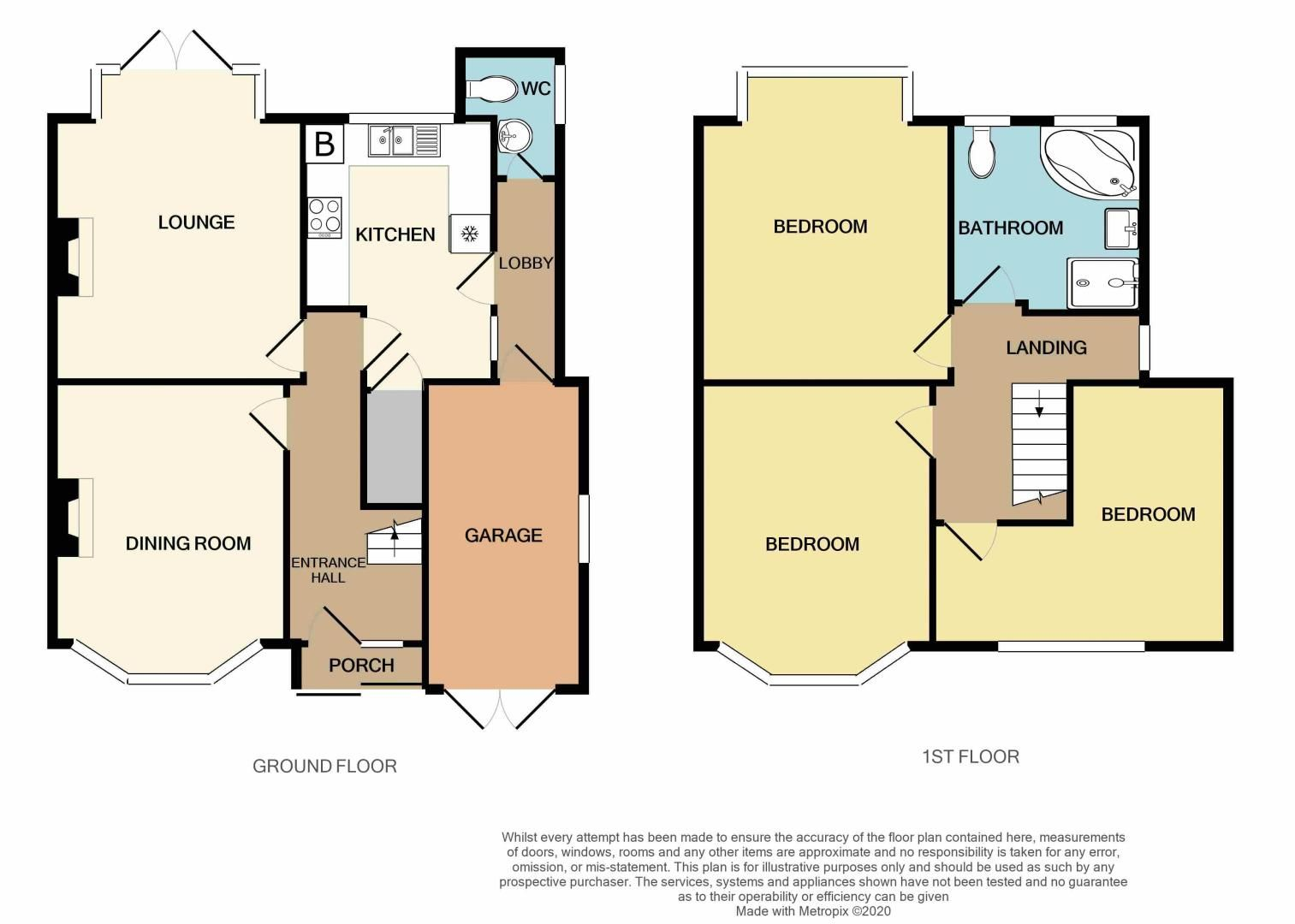 3 bed house for sale in Stoney Lane - Property Floorplan