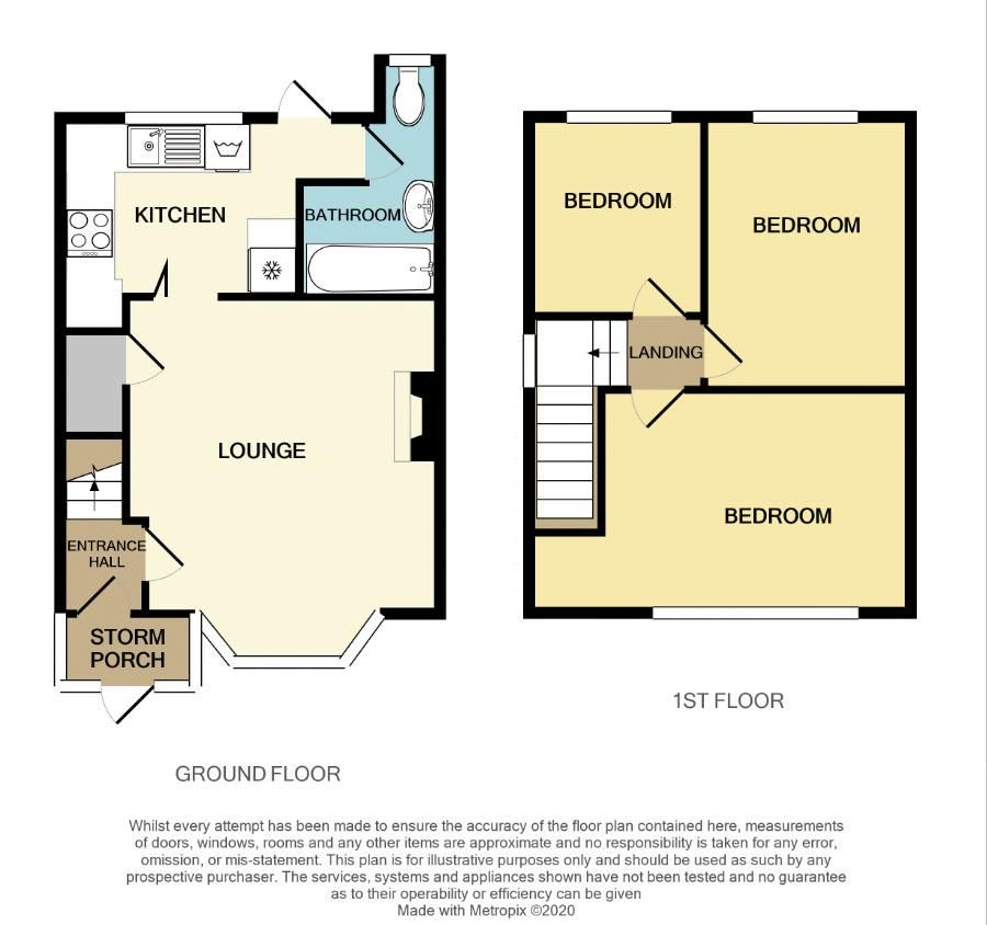 3 bed house for sale in Overdale Road - Property Floorplan