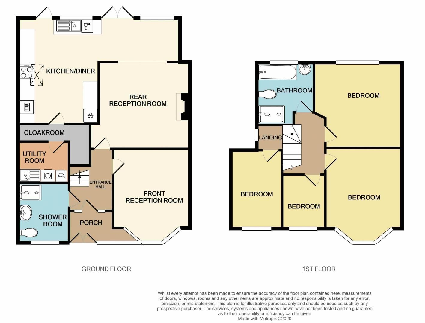 4 bed house for sale in Stanley Road - Property Floorplan