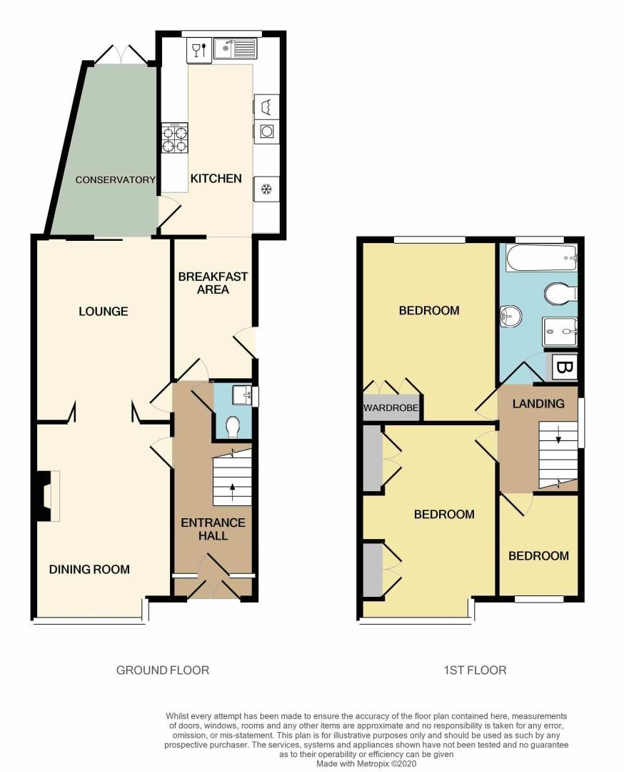 3 bed house for sale in Ridgacre Road West - Property Floorplan