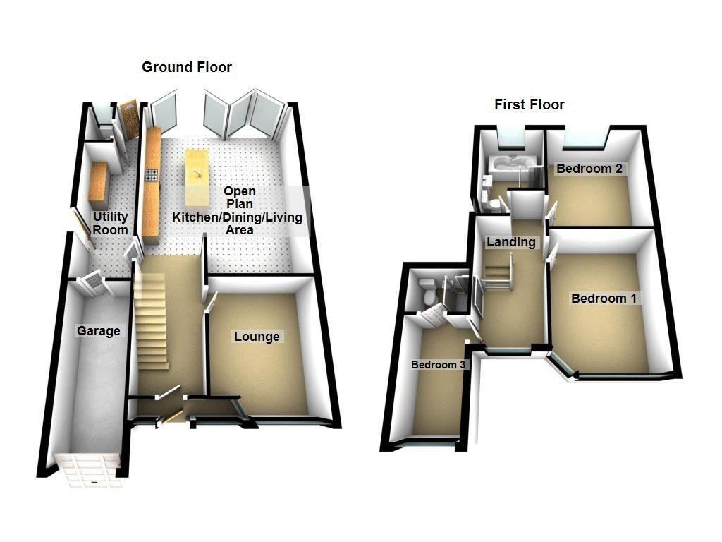 3 bed house for sale in Weymoor Road - Property Floorplan