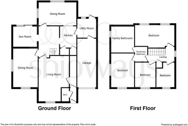 4 bed house for sale in Minton Road - Property Floorplan