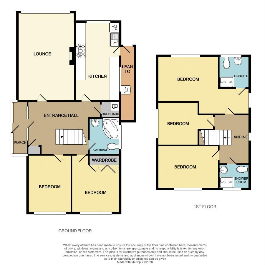 4 bed house for sale in Pound Road - Property Floorplan