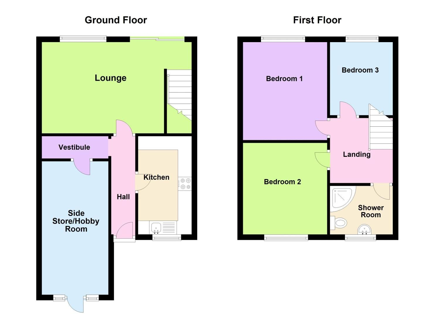 3 bed house for sale in Bissell Street - Property Floorplan