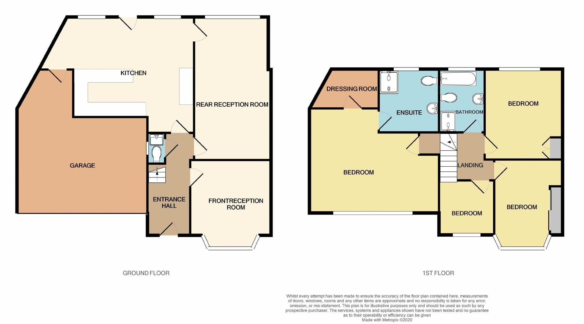 4 bed house for sale in Newlands Drive - Property Floorplan