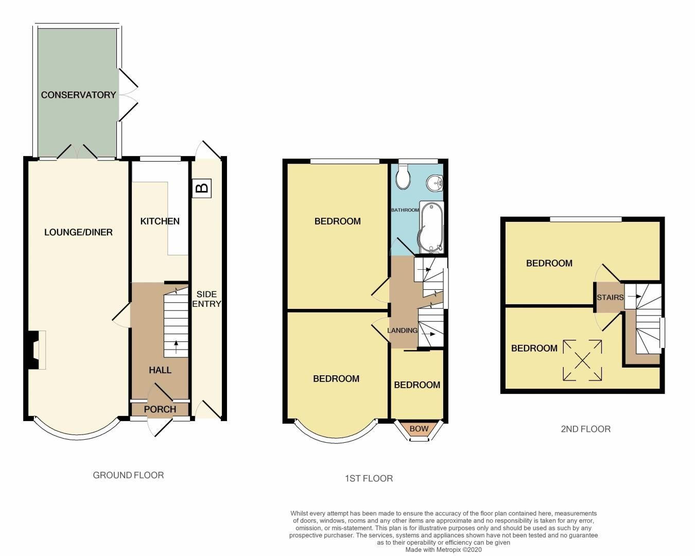 5 bed house for sale in Ridgacre Road - Property Floorplan