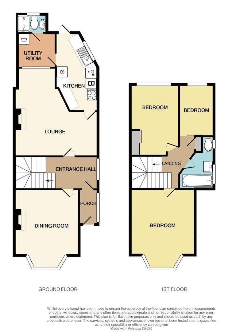 3 bed house for sale in Perry Hill Road - Property Floorplan