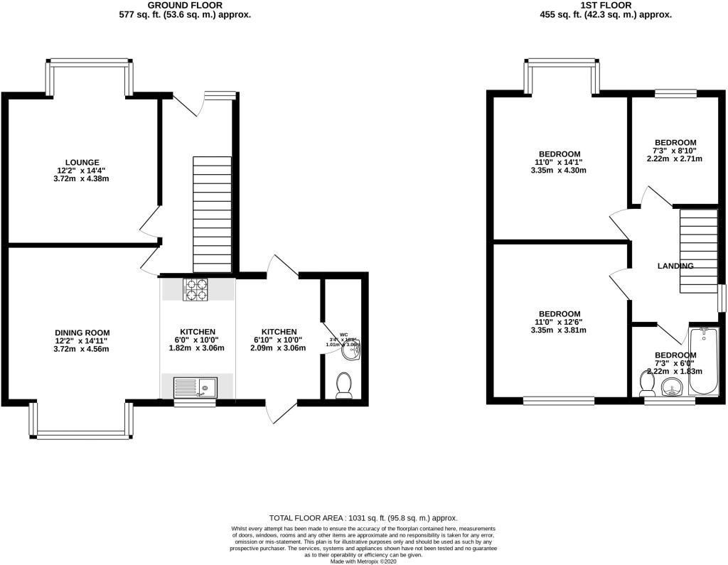 3 bed house for sale in Pound Road - Property Floorplan