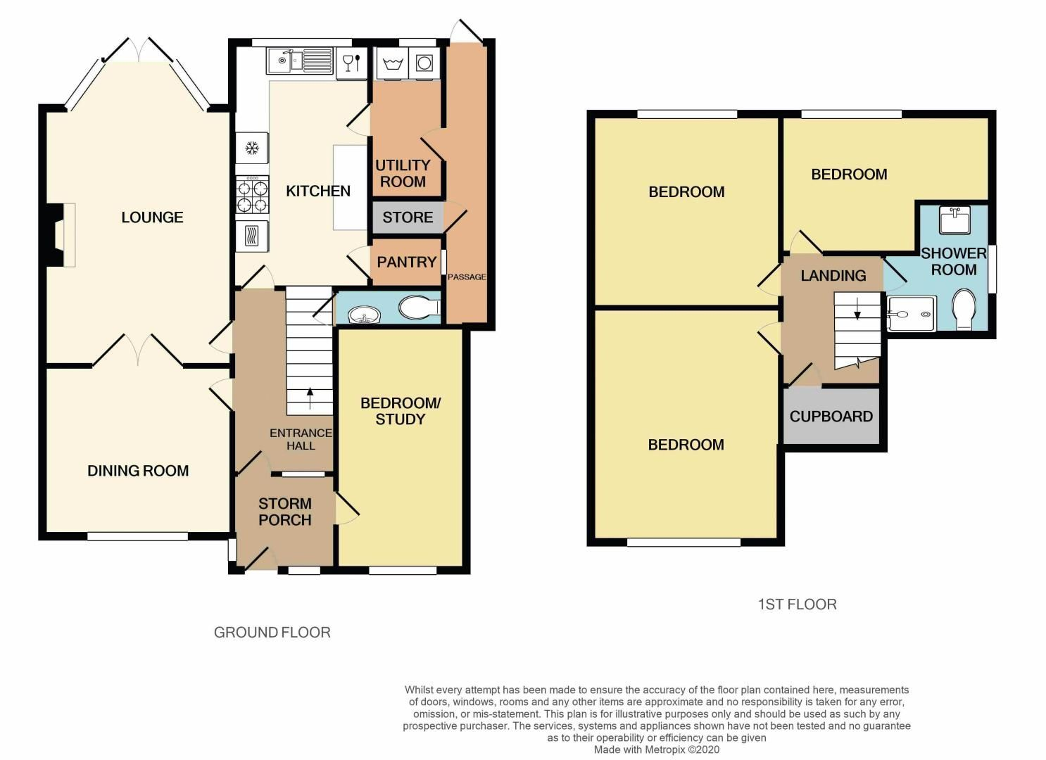 3 bed house for sale in Clydesdale Road - Property Floorplan