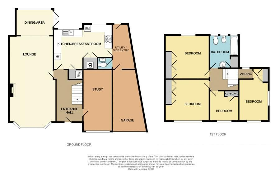 4 bed house for sale in Carters Lane - Property Floorplan