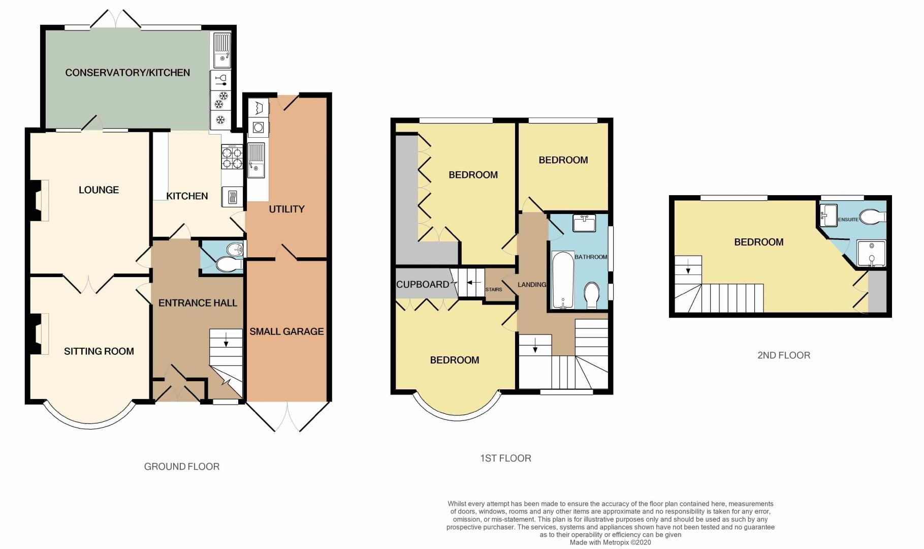 4 bed house for sale in Goodrest Avenue - Property Floorplan