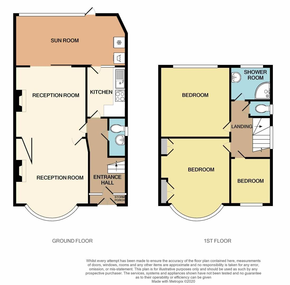 3 bed house for sale in Grayswood Park Road - Property Floorplan